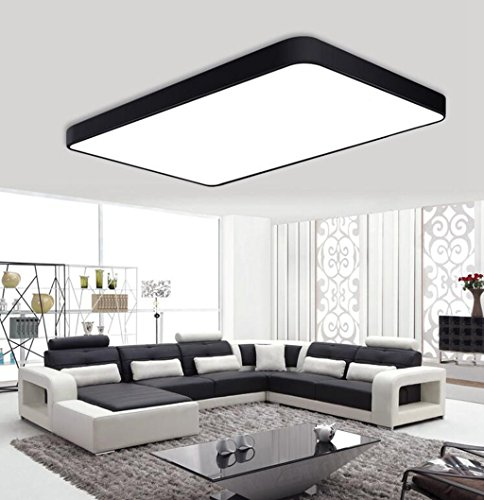 Longless LED, Deckenleuchte, Schlafzimmer, Deckenleuchte, Lampe, Wohnzimmer, Balkon, Lampe, Zimmer, Lampe, Büro, 65 * 43CM