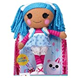 FVBNH 30cm Plush Dolls Girl's Playhouse Toys Soft Lalaloopsy Hair Stuffed Doll Plush Toys Gifts Blue