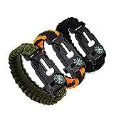 Tang M.Dynasty Bracelet Paracorde Survie, Bracelet de Survie Multifonction, Bracelets de Survie...