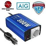 GIANDEL Inverter da Auto a onda sinusoidale pura 300W Adattatore per Auto Convertitore 12V...