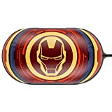Colourful Case Cover for Samsung Galaxy Buds Earphone with Avengers Character (Iron Man)