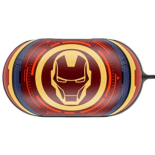 Colourful Case Cover for Samsung Galaxy Buds/Buds+ Plus with Avengers Character (Iron Man)