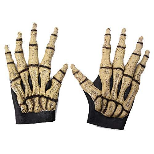TanithM Halloween Werwolf Handschuhe Ghost Festival Horror Wolf Klaue Handschuhe Requisiten Haarige Biest Handschuhe Simulation Wolf Klaue Handschuhe Wolf Klaue Handschuhe Kostüm