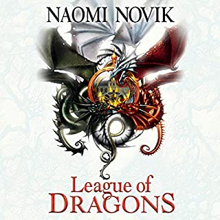 League of Dragons      The Temeraire Series, Book 9              By:                                                                                                                                 Naomi Novik                               Narrated by:                                                                                                                                 Simon Vance                      Length: 10 hrs and 40 mins     Not rated yet     Overall 0.0
