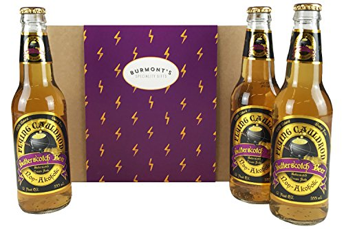 Cerveza De Mantequilla Harry Potter Sin Alcohol 3 Paquetes - Cesta Exclusiva Para Burmont's
