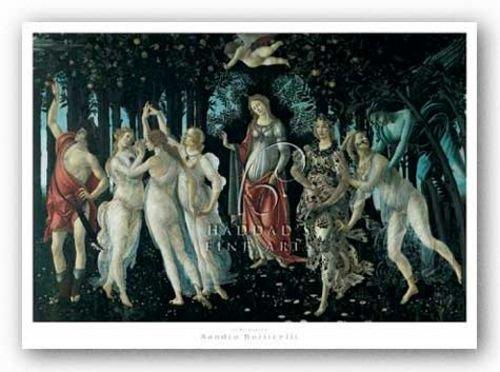 "Primavera by Sandro Botticelli 18""x12"" Art Print Poster"