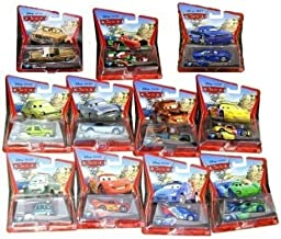 Disney Pixar Cars Luigi&Guido with shaker and glasses die cast vehicles
