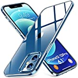 Humixx Shockproof Clear iPhone 12 Case/iPhone 12 Pro Case [Upgraded 3.0 Military Grade Drop Test] [11X Anti-Yellowing] Protective Hard PC Back and Soft TPU Bumper Cover for iPhone 12/12 Pro [6.1 inch]