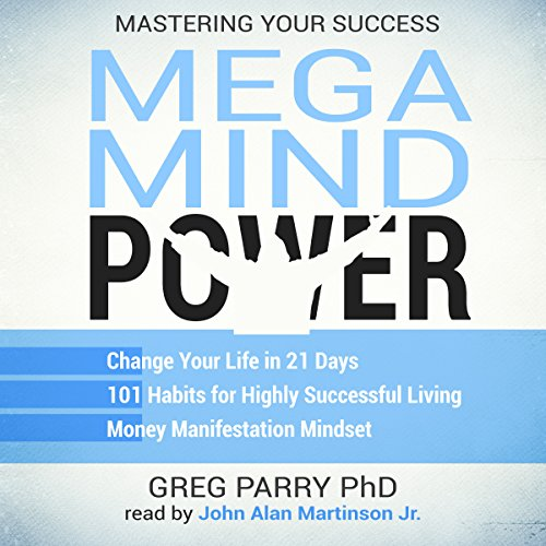 Mega Mind Power Book Bundle: Mastering Your Success Audiobook By Greg Parry PhD cover art