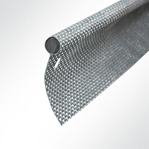 LYSEL Kederband 7,50mm einfahnig anthrazitgrau, (L) 5m