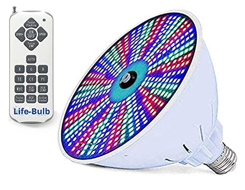 LED Color Light Bulb for Pools - 120V 40W RGB