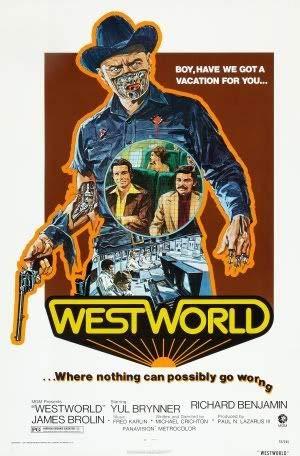 Westworld - YUL Brynner – Film Poster Plakat Drucken Bild – 43.2 x 60.7cm Größe Grösse Filmplakat