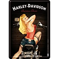 Harley Davidson smallメタルプレート