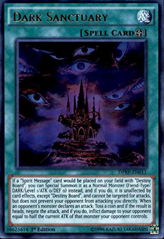Yu-Gi-Oh  - Dark Sanctuary (DPRP-EN011) - Duelist Pack  Rivals of the Pharaoh - 1st Edition - Ultra Rare