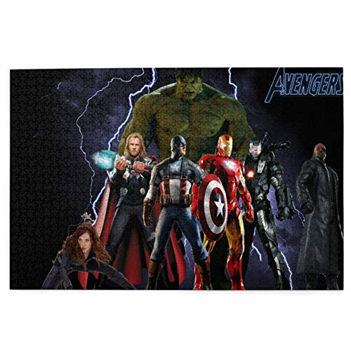 Best-design The Avengers 1000 Rompecabezas para adultos, cada tecnología única, Softclick significa que las piezas encajan perfectamente