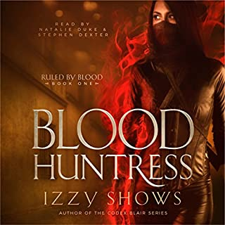 Blood Huntress audiobook cover art