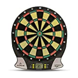 Carromco Electronic Dart Board Score 2nd Generation 92016 Adultos mixtos, negro, rojo, verde, amarillo