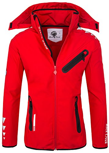 Rock Creek Herren Softshell Jacke RC-09[Rot M]