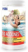 iFONT Cloro 10 acciones   Mantenimiento de Piscina   Tratamiento Multiacción   Formato 1 kg   POOLiberica