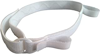 Catheter Leg Bag Strap - Lower - Large - by Secure Comfort: Urinary Catheter Leg Band, Silicone Non Slip Backing; Soft, Adjustable, Elastic, Hook and Loop Closure Holds Bottom Of Bag. ENJOY FREEDOM!