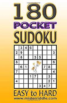 Paperback 180 Sudoku - Pocket - Easy to Hard Book