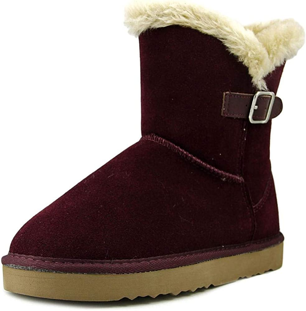 Style & Co. Womens Tiny2 Suede Closed Toe Mid-Calf Fashion Boots