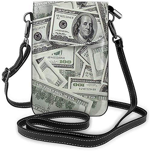 USA-Geld-Dollar-Handy-Geldbeutel-Geldbörse für die Frauen, die Reise-kleine Crossbody-Tasche kaufen