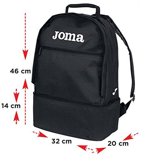 Joma - Mochila Estadio Negro Pack 5 u.