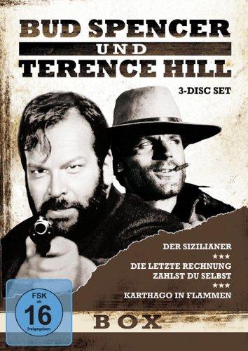 Bud Spencer & Terence Hill - Box, Vol.5 (Der Sizilianer/Die letzte Rechnung zahlst du selbst/Karthago in Flammen) (3 Disc-Set)