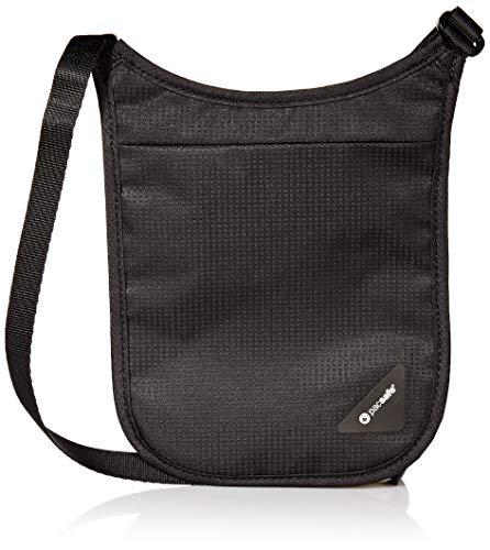 PACSAFE 10556 Pacsafe RFIDsafe V100 Anti-Theft RFID Blocking Bi-Fold Wallet Blue Outpac Designes Inc.