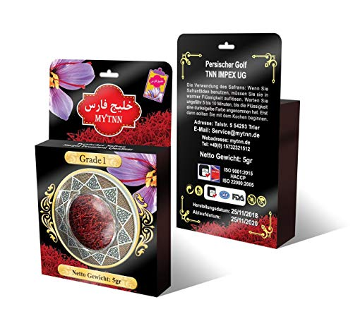 2 x 5 MyTNN Saffron Threads in Dose Super Sargol Premium Saffron High Quality Saffron Threads New Harvest Top Price