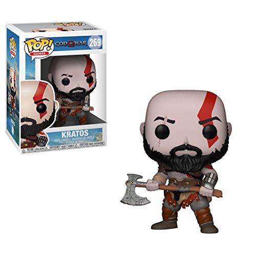 Funko Pop Games: God of War: Kratos, Multicolor, One Size (27031)