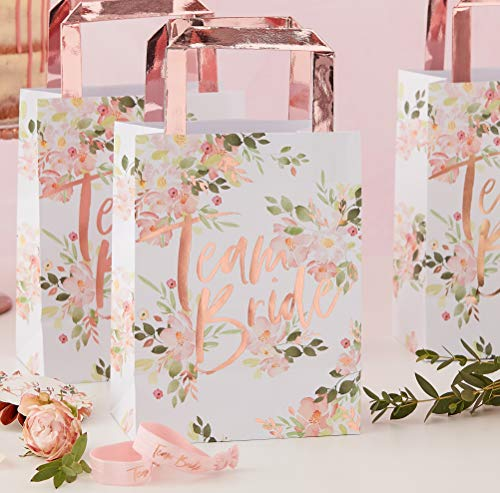 Ginger Ray Floral Bachelorette Party - Bolsas de regalo (5 unidades)