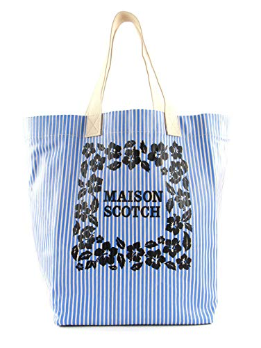 Scotch & Soda Canvas Tote Bag With Artworks Combo B