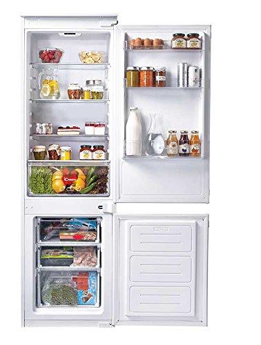 Candy CKBBS 100 Autonomo Frigo - Congelatore (250 L, N-ST, 40 dB, 3,5 kg   24h, Bianco) [Classe energetica A+] - frigorifero da incasso
