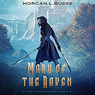 Mark of the Raven audiobook cover art