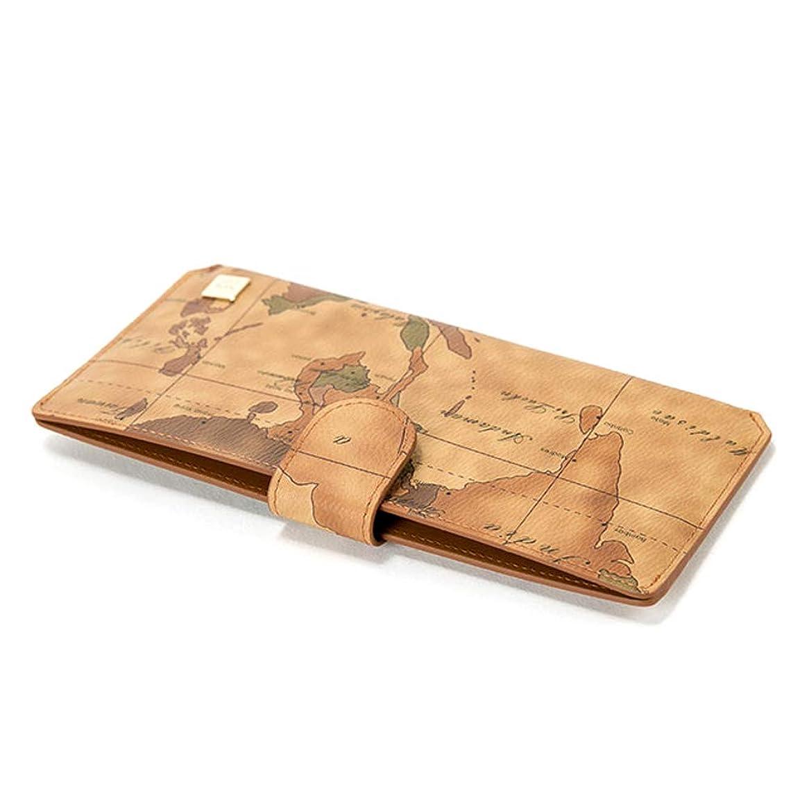 ブルゴーニュねばねばマガジンPRIMA CLASSE(プリマクラッセ) PSW7-2126 シンプルなスリム長財布 (ブラウン)