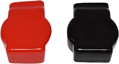 A-Team Performance Military Spec Battery Terminal Covers Positive and Negative Red and Black