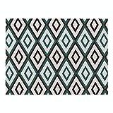 4 Pezzi Tovagliette Tavolo - Un Semplice E Unico Tovaglietta Con Motivi Geometrici,3 polyester,L