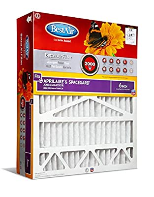 BestAir Air Cleaning Furnace Filter with Cardboard Frame