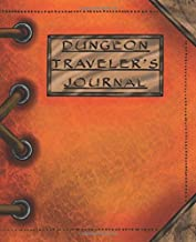 Dungeon Traveler's Journal: The Ultimate Tome to Chronicle Your Roleplaying Adventure (Amber Edition)