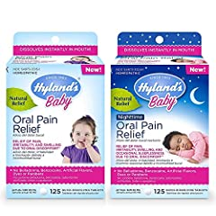 DAY AND NIGHTTIME RELIEF OF ORAL PAIN, DISCOMFORT AND IRRITABILITY: Naturally relieves the symptoms of oral pain, oral discomfort including sore, sensitive or swelling gums, irritability and occasional sleeplessness at night. EASY TO USE: Easy to adm...