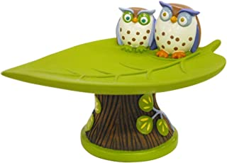 Allure Home Creations Awesome Owls Resin Soap Dish