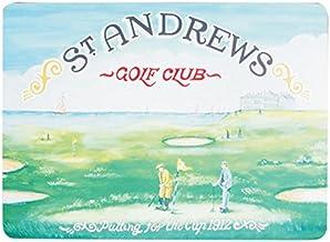 "Navika PGA St. Andrews Golf Club Placemat, Green, 15 1/4 x 11 1/2"""