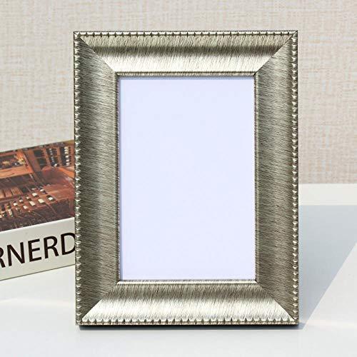 QKEMM Marcos de Fotos Marco Foto Recuerdo Marco De Resina Simple 30.5 × 40.6cm De Oro Brillante
