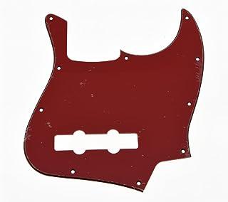 kaish rojo 3capas Jazz J Bass Pickguard para EE. UU./México 4cuerdas Fender Jazz Bass