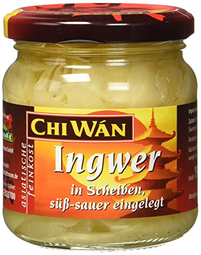 Chi Wán Ingwer in süsser Lake, 6er Pack (6 x 190 g)