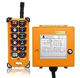 NEWTRY 12 botones de control remoto inalámbrico de grúa 36 V canal industrial elevador eléctrico transmisor transmisor transmisor (+ receptor AC36 V)