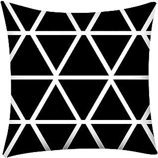 Doreleven Modernos Geométricas Fundas Cojines 45X45, Imprimir Funda de Almohada Sofá de poliéster Funda de cojín para Coche Decoración para el hogar