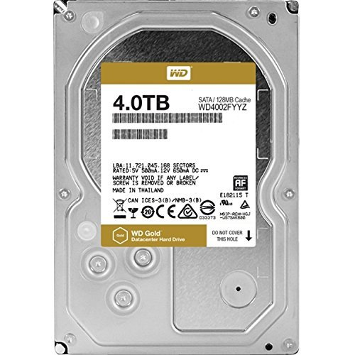 WD Gold 4 TB